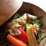 08_N's Kitchen_彩り野菜の蒸篭蒸し