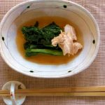 08_N's Kitchen_菜の花のピリ辛漬け