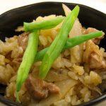05_アプリールクッキングスタジオ_鶏とゴボウのコチュジャン風味炊き込みご飯
